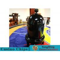 Security Fair Casino Game Accessories Black Color Automatic / Manual Dice Cup for sale