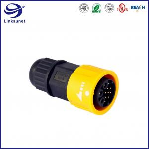 China Middle IP68 copper alloy Waterproof Circular Connectors For Streetlight on sale