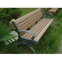 Quality Eco - friendly Recyclable Wood Plastic Composite Bench , Composite Park Benches for sale