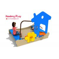 China Sand Pit Plastic Playground Equipment Pe Board Eco - Friendly Hdpe Material wholesale