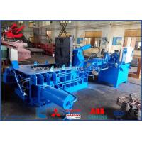 China Waste Beverage Cans Hydraulic Scrap Metal Baler With Hand Valve Control wholesale