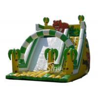 China 6 Mts High Kids Outdoor Inflatable Jungle Slide Made Of 0.55mm Pvc Tarpaulin wholesale