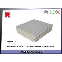 China Non-Stick PTFE Sheet with Smooth Surface wholesale