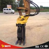 China widely used high quality great price china trade assurance supplier hydraulic rotator stone grapple for excavator wholesale