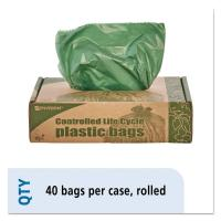 China Eco Degradable Trash Bags , 1.1mil 33 Gallon Garbage Bags 33 X 40mm wholesale