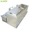 China Double Tanks Ultrasonic Engine Cleaner , Waterproof Engine Block Washing Machine wholesale