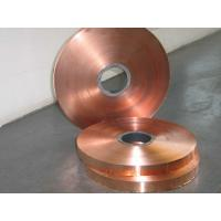 China Electrolytic Copper Strip / Tape Non Ferrous Metals Strips wholesale