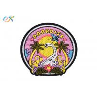 China Stock Design Embroidered Animal Patches , Beautiful Dinosaur Embroidered Patches wholesale