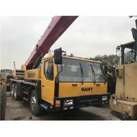 China original chinese used sany mobile crane 25t secondhand high quality crane Sany 25t truck crane/sany 50ton crane/QY50C m wholesale