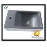 China Xiamen Kungfu Stone Ltd supply Grey Andesite Stone Sink For Indoor Kitchen,Bathroom wholesale