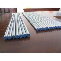 Quality ST37.4 Galvanized Steel Tubing , Seamless Zinc Coated Steel Pipe DIN1630 for sale