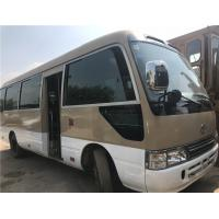 China 12m omnibus / luxury version coach bus with 49 seats/ white color coaster bus/used toyota mini bus wholesale