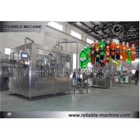 Quality Orange Juice Drinking CSD Filling Machine For 2L PET Bottle Semi Automatic for sale