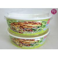 China 26 Ounce Logo Printed Paper Salad Bowls For Grill , Disposable Paper Food Containers wholesale