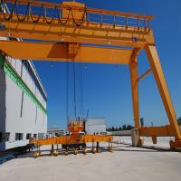 Buy cheap CE / GOST Single Girder Semi Gantry Crane Outdoor Mobile Rail Mounted from wholesalers