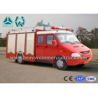 Quality Oil Saving Iveco Rescue Fire Truck Man - Machine Communication for sale