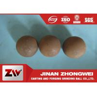 Quality Good Wear Resistant Grinding Media Ball Forged And Cast Low Wear wholesale