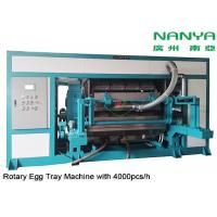 Buy cheap Automatic Rotary Egg Tray / Egg Carton Making Machine High Output Pulp Molded from wholesalers