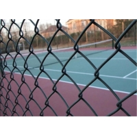 China Diamond 50x50mm 1.8m Pvc Coated Chain Link Fencing wholesale
