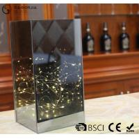 China Dark Brown Flat Glass Led Lights With ON / OFF Function WB-014 wholesale