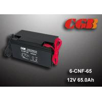 China 65AH Valve Regulated Lead Acid Battery Rechargeable , Long Time Undercharge 12v Vrla Battery wholesale