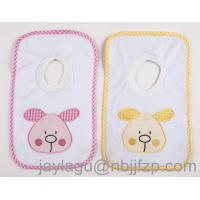 China 100% cotton Baby Bibs with emb wholesale