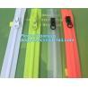 China #5 TPU Coating Waterproof Open End Nylon Zipper For Outdoor Garment, nylon waterproof zipper with auto lock slider zippe wholesale