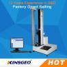 China Panasonic Servo Motor High Accuracy Universal Material Testing Machine With USA Sensor wholesale