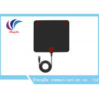 Buy cheap HDTV 1080P HD Indoor TV AntennaVHF174-230 / UHF 470-862MHz TV With Amplifier Signal Booster from wholesalers