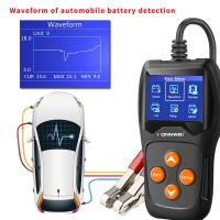 China Volt Battery Load Tester Vehicle Tools 2.4 Inch Color Screen KW600 12 CE Approval on sale