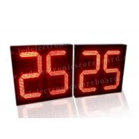 China 5V Red Color LED Countdown Timer For Basketball Game Customized Design wholesale