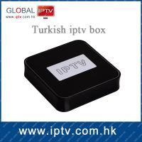 China Turkish iptv box with 94 hd live turkey channels on sale