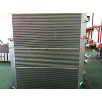 China Aluminum Air Compressor Heat Exchanger / Combined Oil-Air Cooler / Vacuum Brazing wholesale