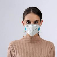 China PP2 KN95 folding face mask with breathing valve,Respirator anti air pollution ,coronavirus,covid-19 virus protection wholesale
