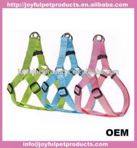 Nylon Lead Flashing Personalized Pet harness Leashes Dog Custom Lanyard