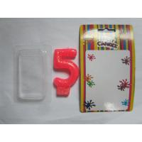 Quality Smokeless Number Birthday Candles With Golden Glitter Powder On The Surface wholesale