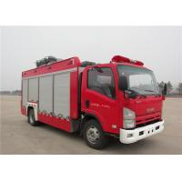 China 6 Forward Gear Light Up Fire Truck , Pneumatic Lifting Poker Heavy Rescue Fire Truck wholesale