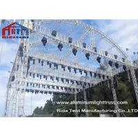 China Arch Shape Aluminum Stage Truss , Outdoor Truss Structure Truss Display Systems wholesale
