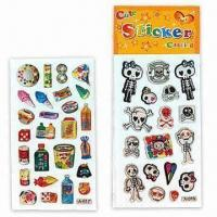 China 3-D Dome Stickers, Suitable for Promotional Purposes, Various Designs are Available wholesale