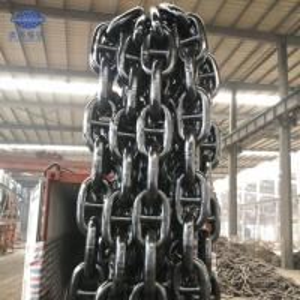 China Hot Sale U1 U2 U3 62mm marine ship Stud link anchor chain connecting link wholesale