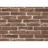 China Moisture Proof 3d Brick Effect Wallpaper Waterproof Vinyl Wall Covering Size 0.53*10m wholesale