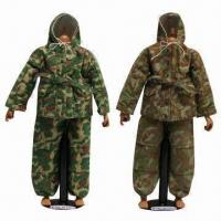 China 12-inch Action Figures, Made of Eco-friendly Plastic and Fabric wholesale