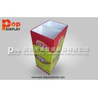 Quality 100% Recyclable Corrugated Paper Shop Retail Dump Bins Environment Friendly for sale