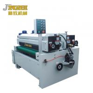China Recycled Paint Design Wood Coating Machine  PLC Man - Machine Interface wholesale