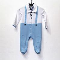 China New arrival hot sale 2014 top quality designer a-marni baby's short cotton Clasp jumpsuits wholesale