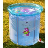 China Blue Inflatable Swimming Pools For Kids ,Small Spring Baby Pool wholesale