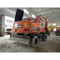 China 2012 Year Used DOOSAN Wheel Excavator DH150W-7 Engine Power 71kw wholesale