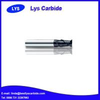 China 2-flute flattened end mills with straight shank wholesale