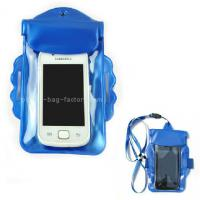 China Promotional Gift Waterproof Case Bag , Underwater Phone Pouch With Armband / Landyard wholesale
