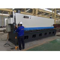 Buy cheap 18.5KW Guillotine Metal Cutting Machine With Germany ELGO P40 NC Control System from wholesalers